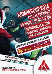 Futsaltoernooi 'KompasCup 2014'