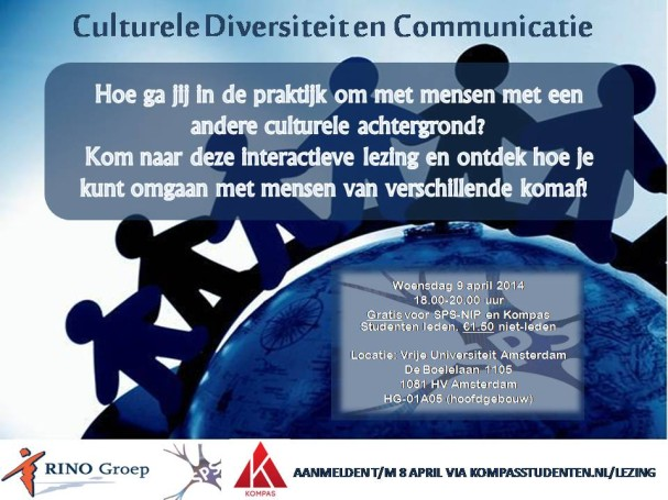 Lezing Culturele Diversiteit & Communicatie