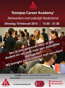 Verslag: Lancering Kompas Career Academy – Netwerken met zakelijk Nederland