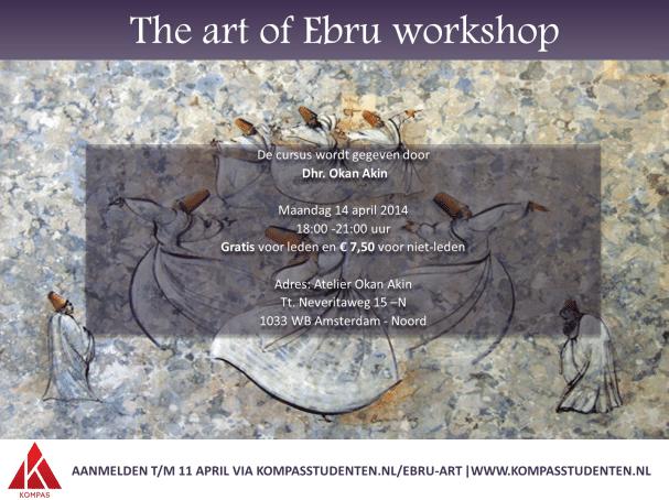 Reeks 'Culture brings together' – Ebru Workshop