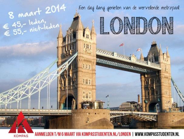 Dagtrip Londen 8 maart