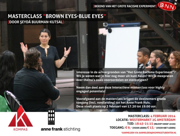 "Masterclass ""Brown Eyes-Blue Eyes"""