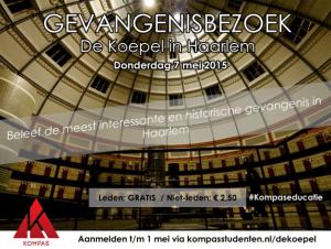 Gevangenisbezoek de Koepel in Haarlem