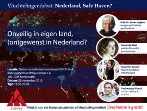 Verslag: vluchtelingendebat 'Nederland: safe haven?'