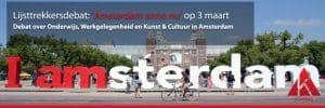 Lijsttrekkersdebat: 'Amsterdam anno nu'