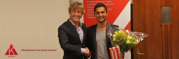 Joost Taverne (VVD) aanwezig bij Kompas Studenten
